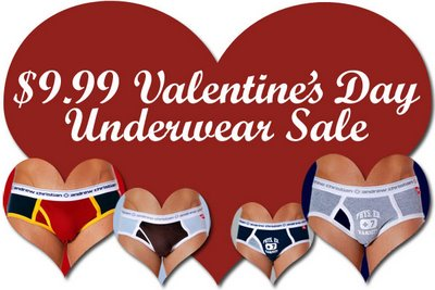 Andrew Christian - $9.99 Valentines Day Sale
