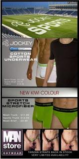 Dead Good Undies - Jockey Sports and the Man Store