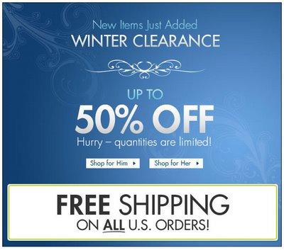 Fresh Pair - Winter Clearance