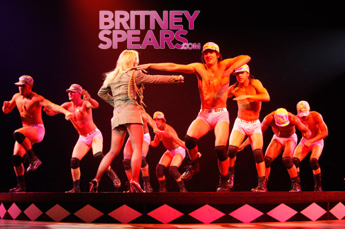 Britney's Boys in B*Boy Underwear