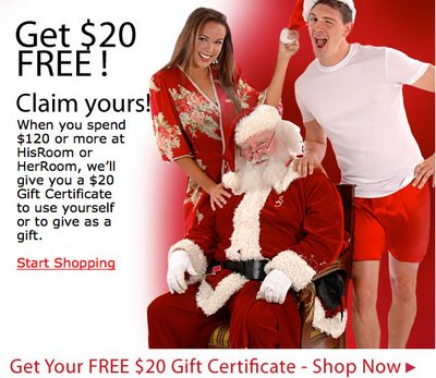 His Room - $20 Gift Certificate
