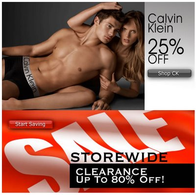 His Room - CK Sale and Store wide Clerance