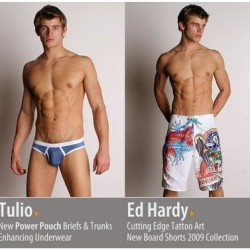 International Jock – Tulio and Ed Hardy