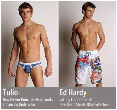 International Jock - Tulio and Ed Hardy