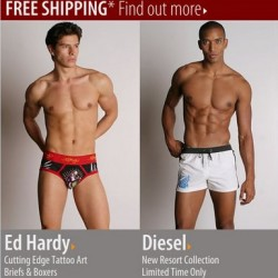 International Jock – Ed Hardy and Diesel