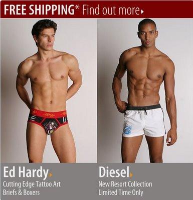 International Jock - Ed Hardy and Diesel