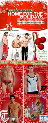 Jock Boy Locker - Keep your Ornaments Warm!