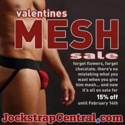 Jockstrap Central – Mesh Jocks on Sale