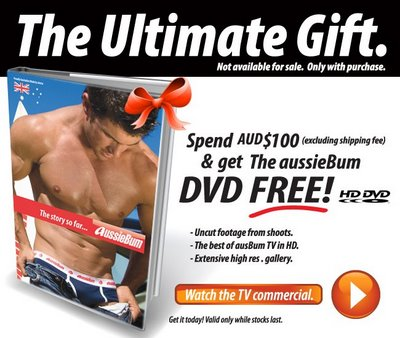Aussiebum - Free Gift with $100 AU Purchase