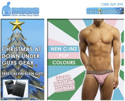 Down Under Guys Gear - New Pop Colors in C-IN2 and CK Special