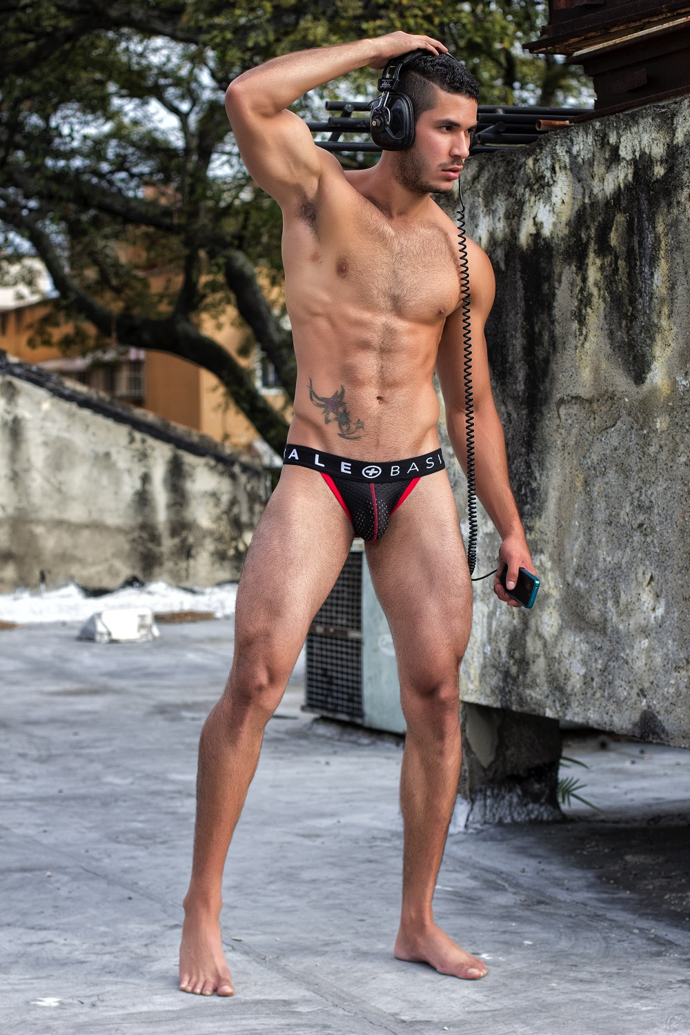 Brief Distraction featuring MaleBasics Spot Collection Jock