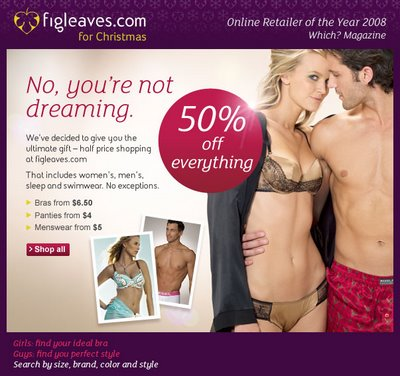Figleaves 50% off Sale
