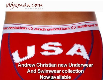 Wyzman - New Andrew Christian In Stock