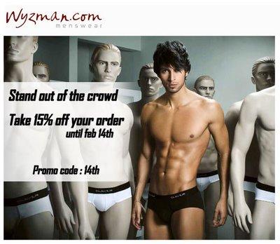 Wyzman - 15% off your Order