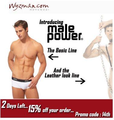 Wyzman - Introducing Male Power Line
