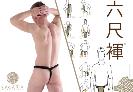 Style Brief Sagara Loinclothes Fundoshi Rokushaku
