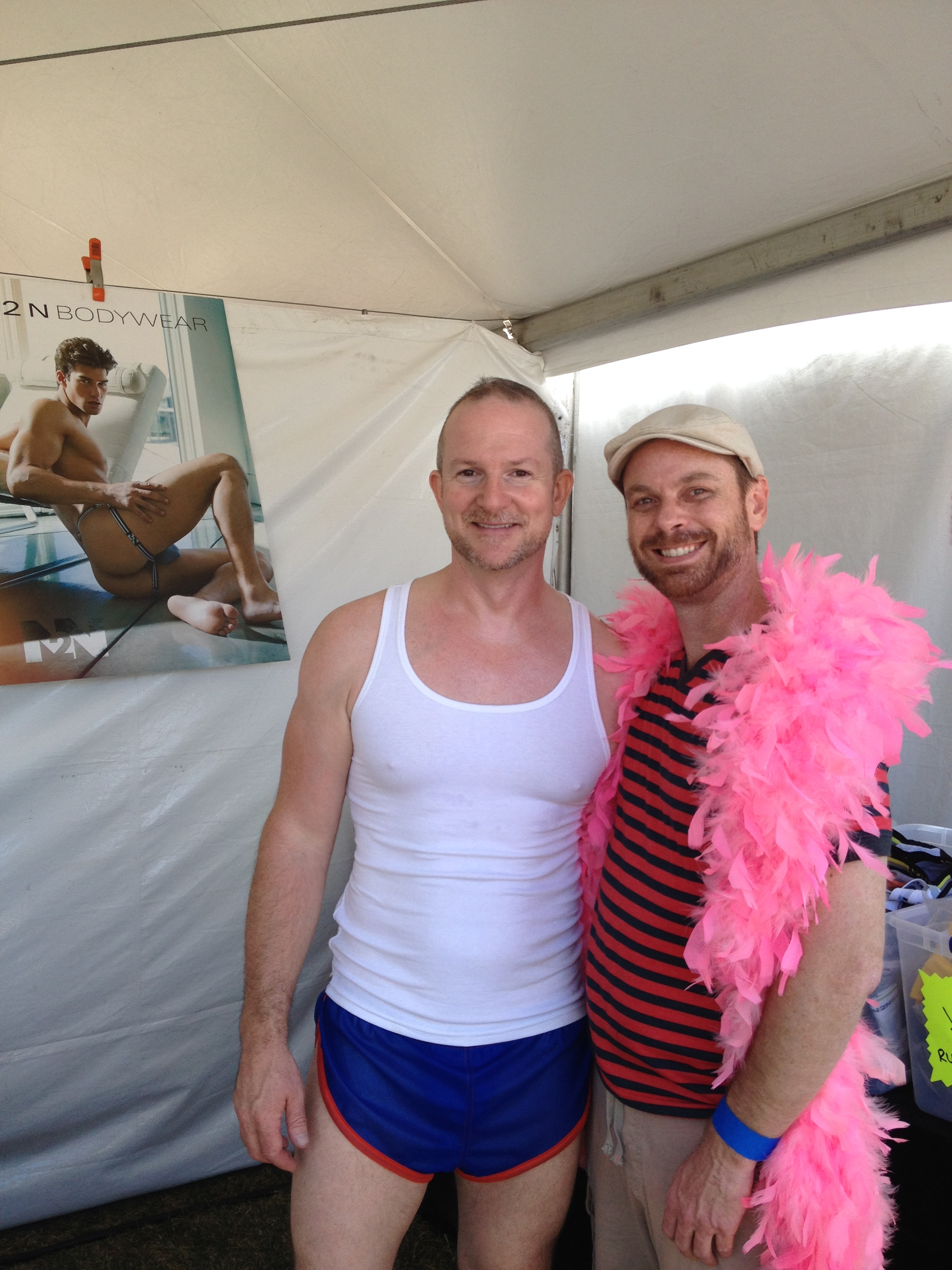 Underwear and SoCal Gay Prides