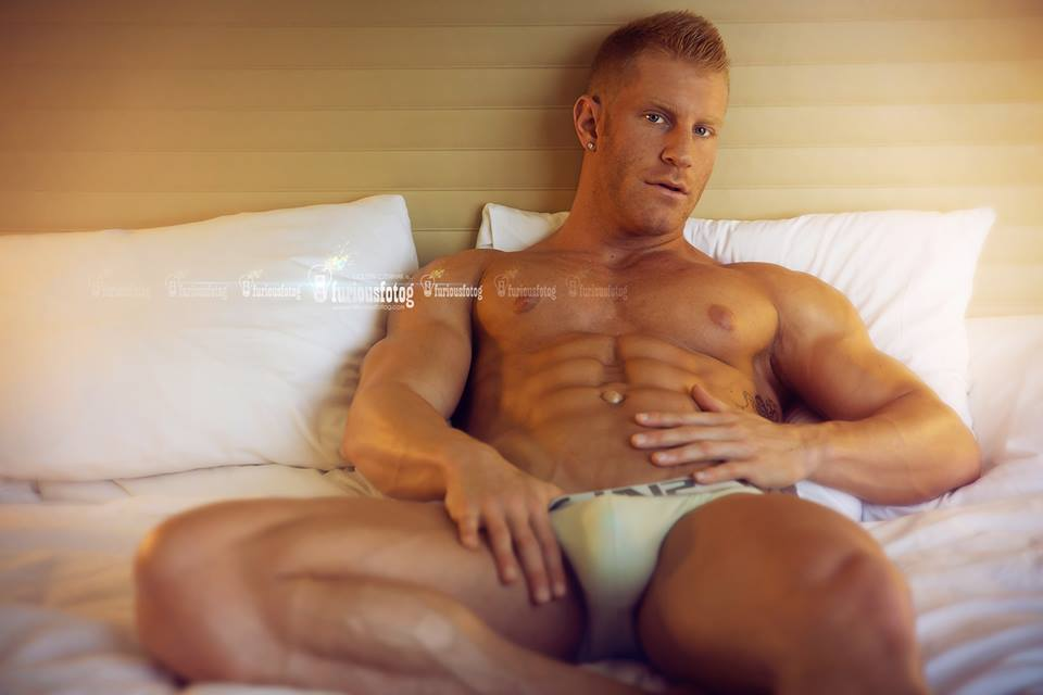 Brief Distraction featuring Model Nick D