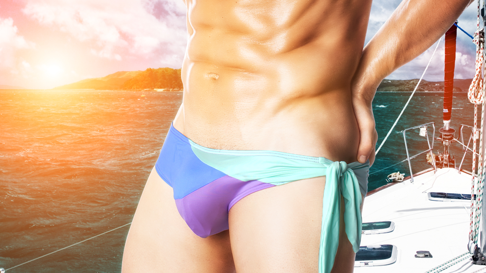 Come Swim in the Lagoon with aussieBum