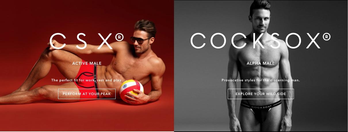 Cocksox has a new website!