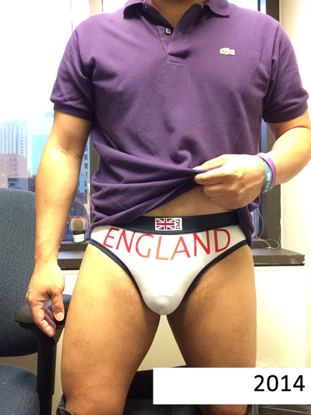 Underwear: My Obsession and Challenge by Slater