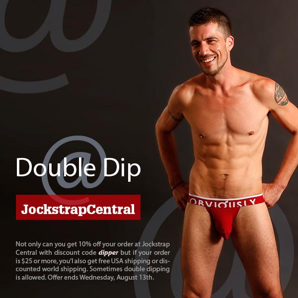 Double Dip at Jockstrap Central