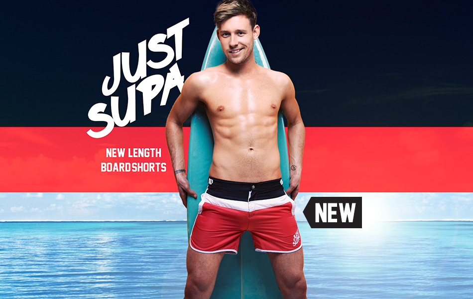 Style Brief Just Supa Swimshorts