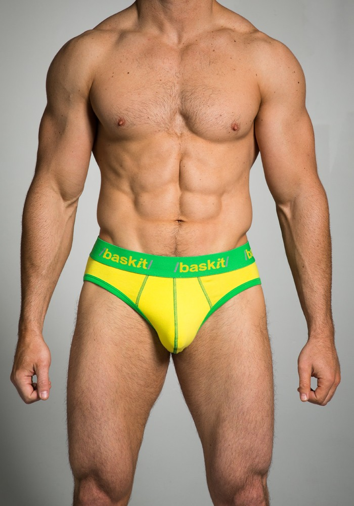 Baskit $12 Tuesday Contrast Brief