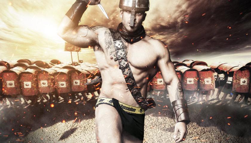 aussieBum Gladiator is unleashed