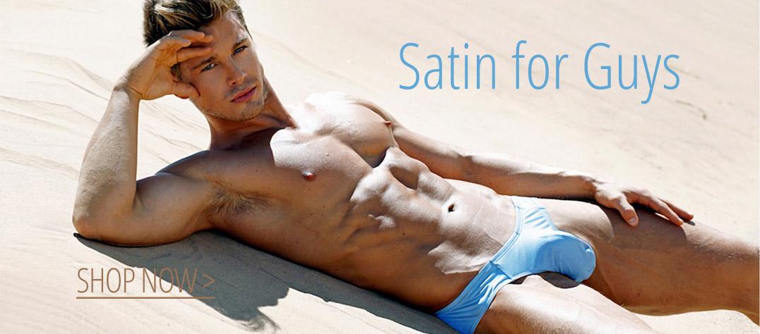 BodyAware Satin Underwear for Men