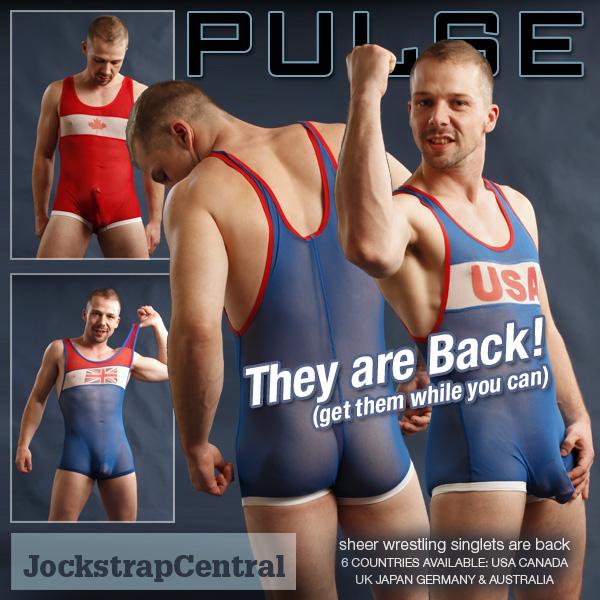 Pulse Wrestling Singlets are back at Jockstrap Central