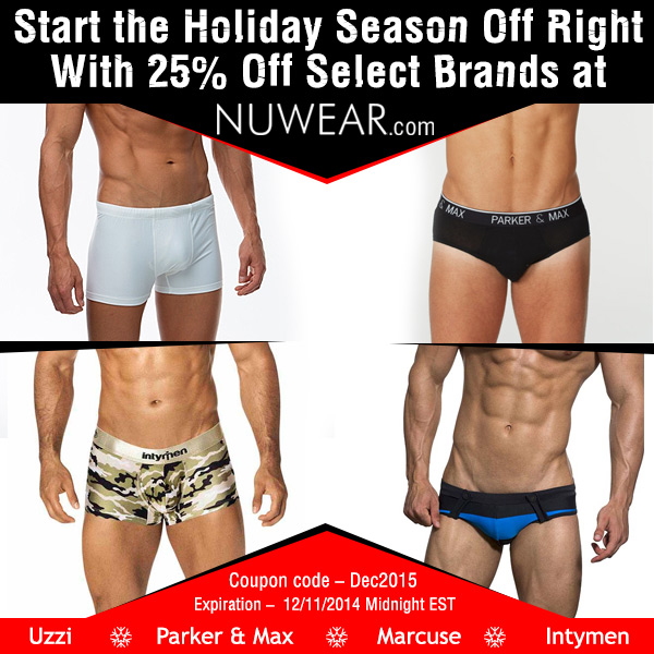 Save 25% off at NuWear