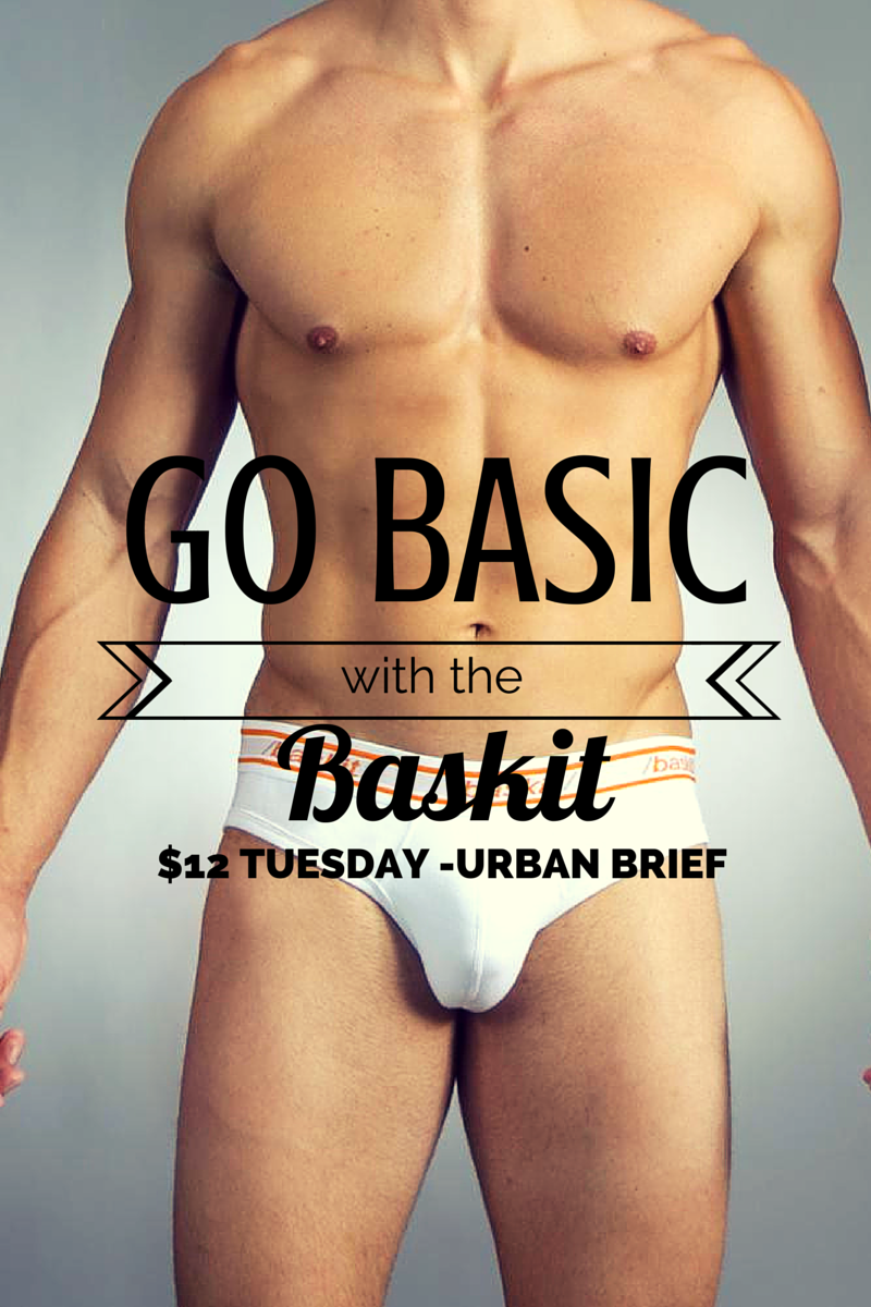 Baskit $12 Tuesday - Urban Basics Brief