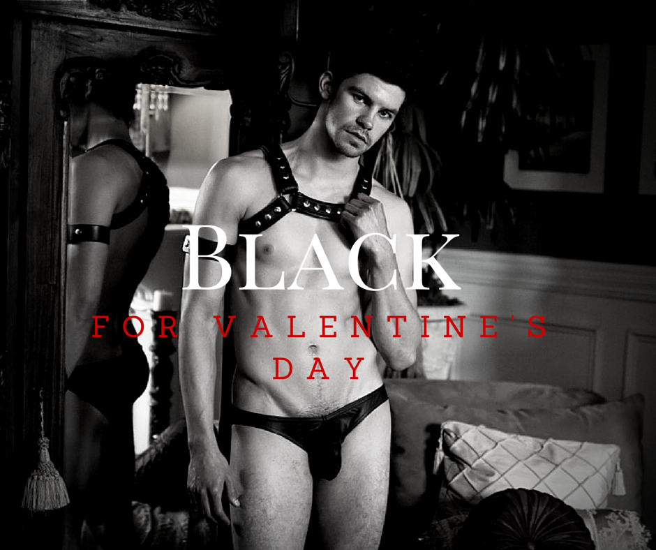 Black for Valentine's Day v.3