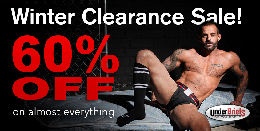 Winter Clearance at UnderBriefs