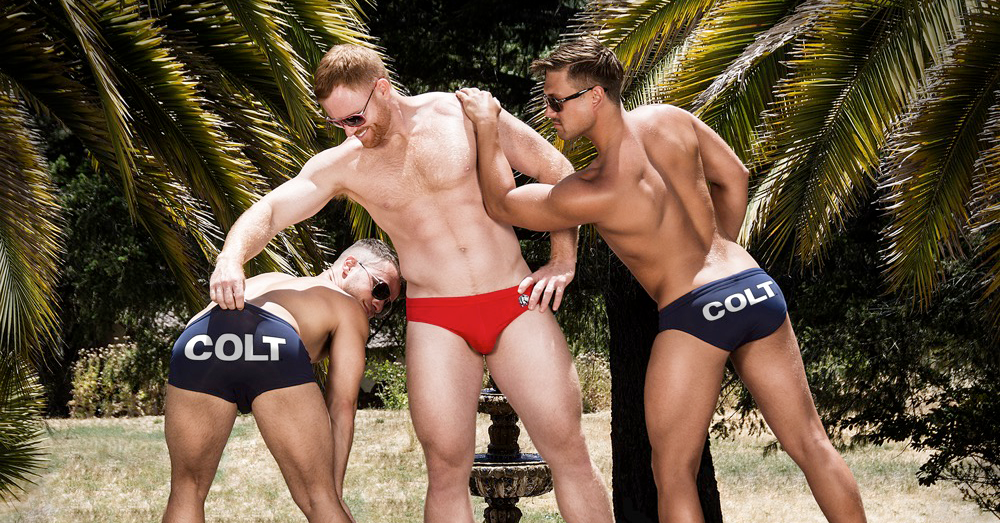 Show off in the Colt Kelso Swim Brief & Kuzak Square Cut