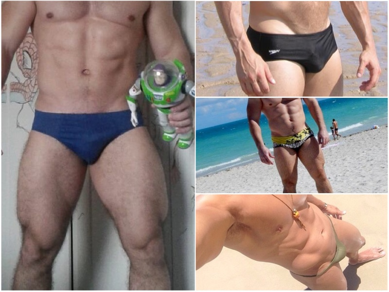 A Straight Guys First Swim Brief Experience
