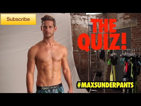 Max's Underpants Episode Seven - The Quiz