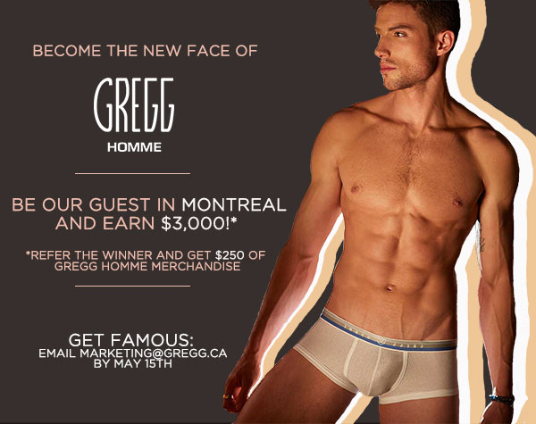 Be Gregg Homme's Next Model