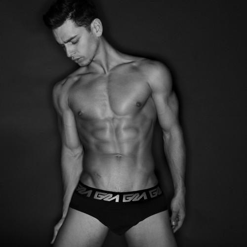 Garcon Model underwear by Marco Ovando for Homotography with model Valeriu Gutu