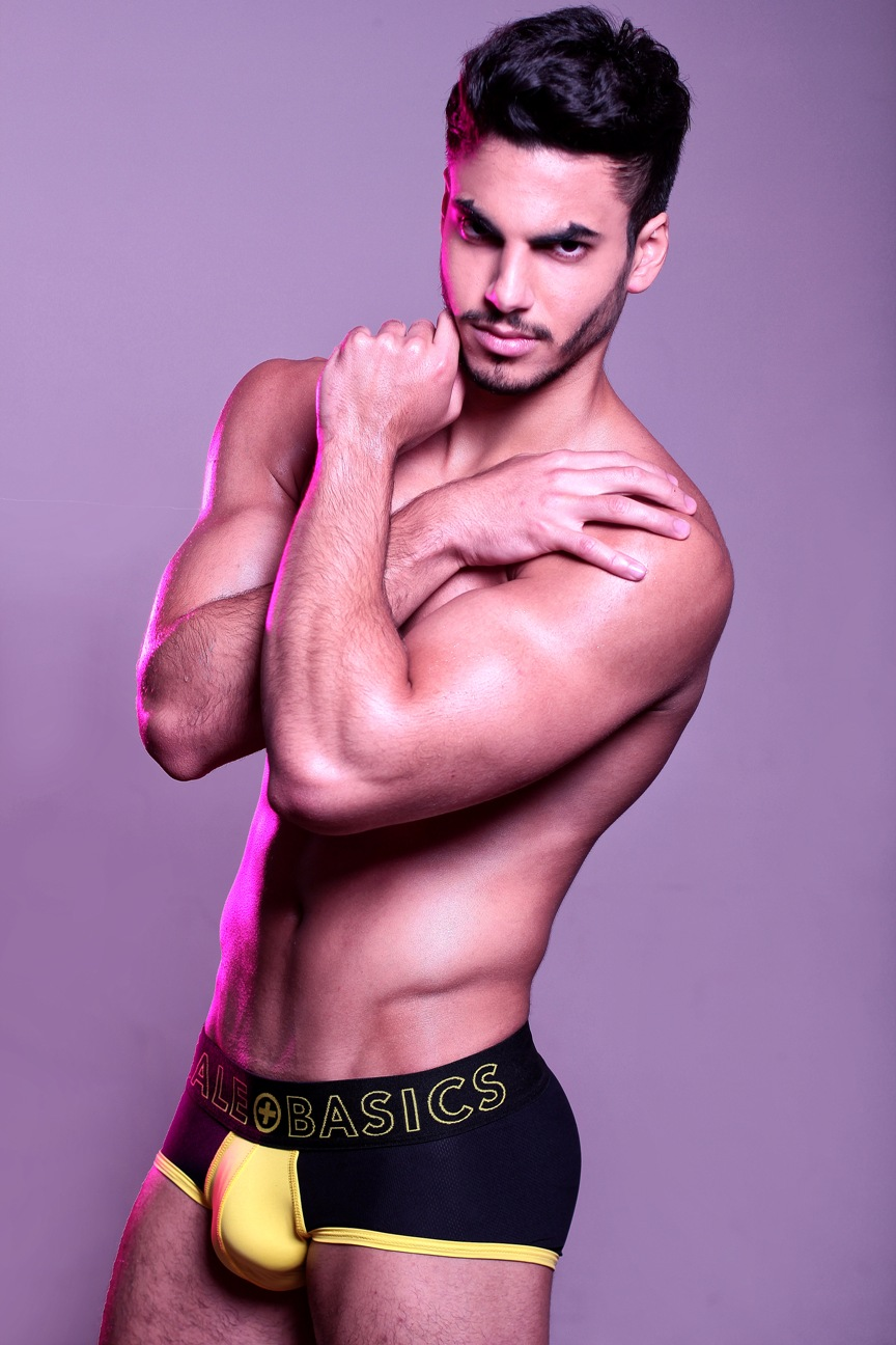 Brief Distraction featuring MaleBasics Neon Collection