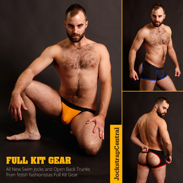 Full Kit is back with New Underwear and Jocks at Jockstrap Central
