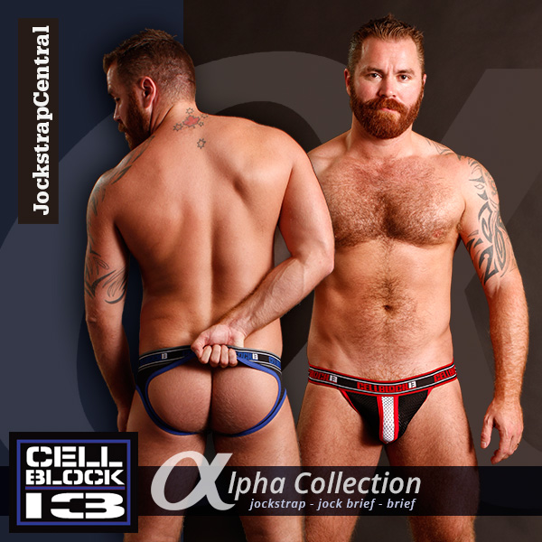 Jockstrap Central has Cellblock 13 Alpha Jocks, Jock Briefs and Briefs