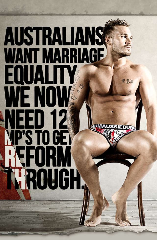 Live Without Doubt - aussieBum Equality Line