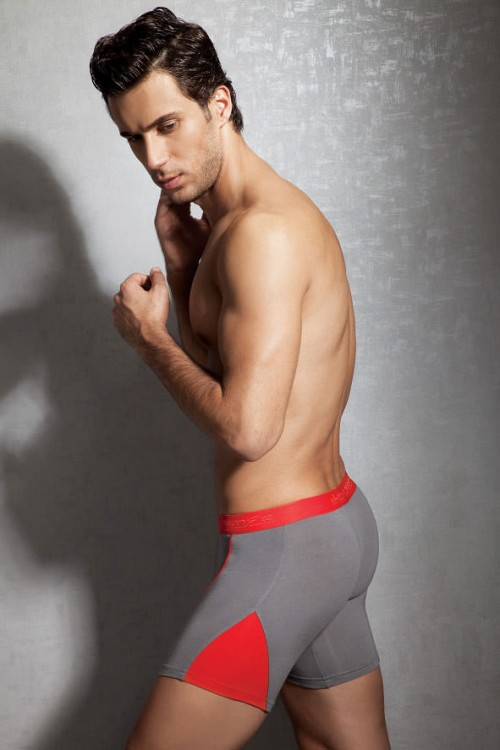 doreanse-1754-boxer-brief-smoke-grey-red-rear