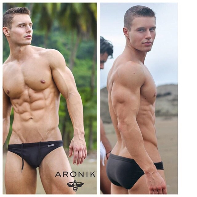Brief Distraction featuring Aronik Swimwear