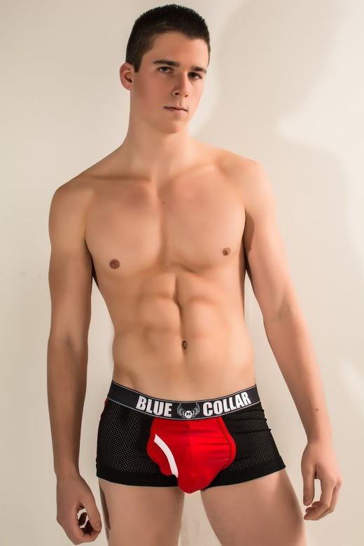 Blue Collar Underwear Athletic Cobra Trunk