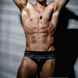 Armando Adajar Shoots Wood Underwear Camo Collection
