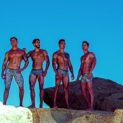 MaleBasics Camo Collection shot by Adrian Martin