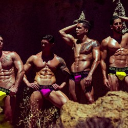 MaleBasics Neon Collection shot by Adrian Martin